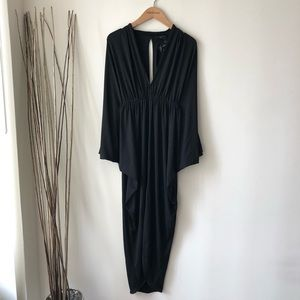 Nasty Gal batwing sleeve midi dress - XS - NWT